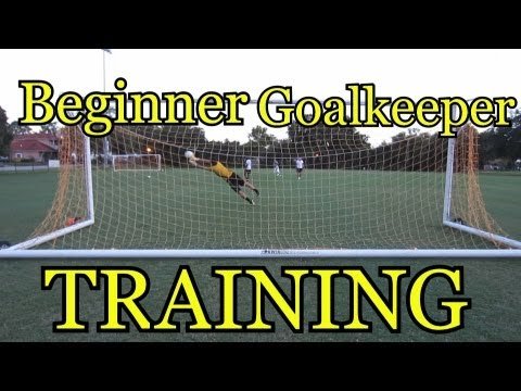 Beginner Goalkeeper Training: Basic Foundations of Goalkeeping