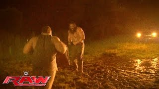 The New Day and The Wyatts brawl at The Wyatt Family Compound: Raw, July 11, 2016
