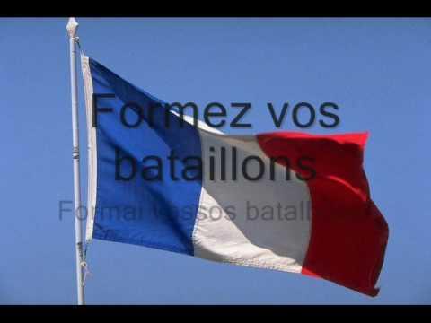Hino Nacional da França (Fr-Pt/br)