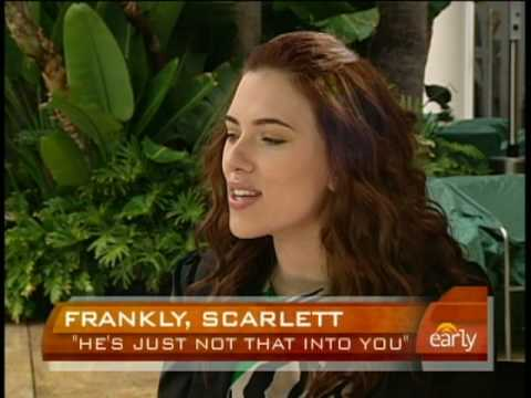 Scarlett Johansson On Love Video