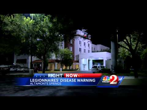 3 cases of Legionnaires' disease reported at hotel