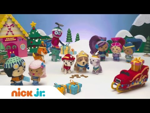 The Holiday Song Music Video | PAW Patrol & the Nick Jr. Family