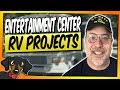 RV DIY Entertainment Center update and install #36