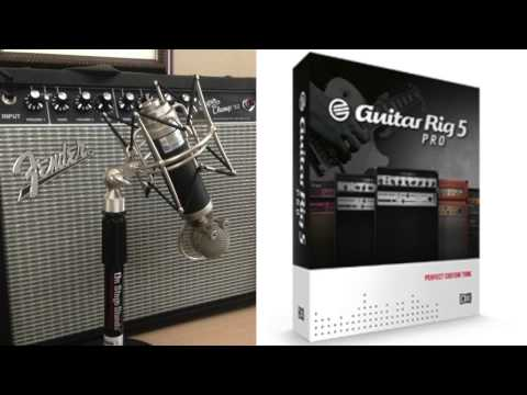 Guitar Rig VS Real Amp Sound Test