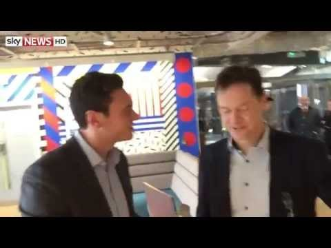 Selfie Stick Interview: Nick Clegg MP