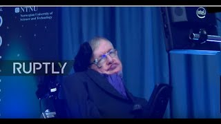 Norway: Stephen Hawking speaks on 'the future of humanity' at Starmus Festival