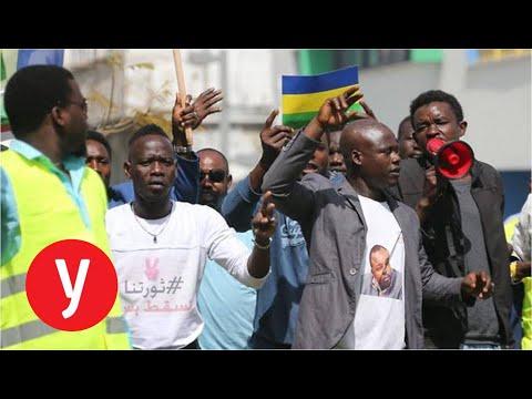 הפגנת סודאנים בדרום תל אביב