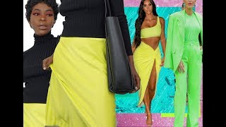 HOW TO WEAR AND STYLE NEON LINE!! ZARA TRY ON HAUL