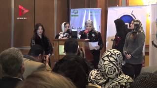 يسرا وإلهام شاهين وعلي جمعة وطارق علام في احتفالية تكريم أمهات العرب