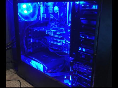 LED installation mod for your computer (case mod)