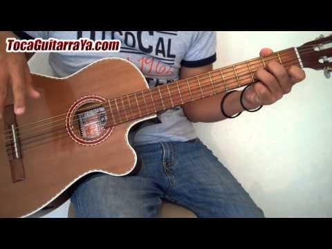 Como Tocar Triste Canción de Amor en Guitarra