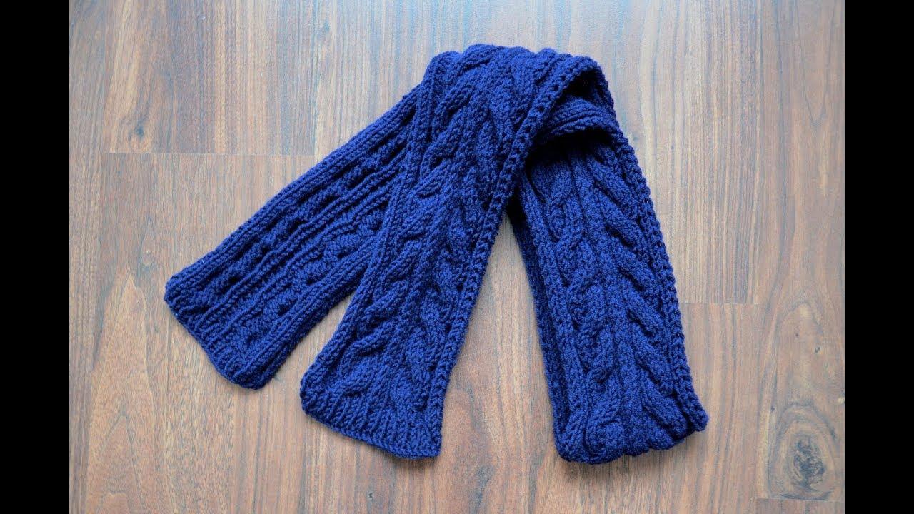 Вязание на спицах шарф детский 318