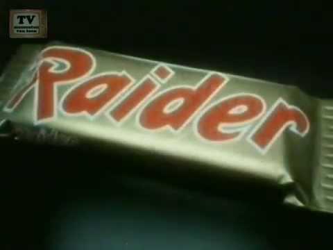Vroeger toen Twix nog gewoon Raider heette..