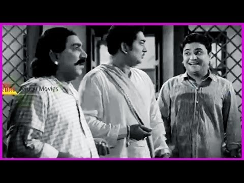 Ramu Telugu Movie Comedy Scene - Ntr, Jamuna,chittor V. Nagaiah video
