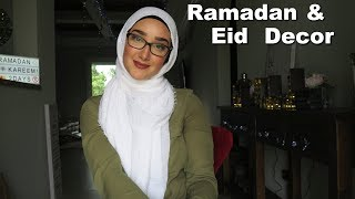 Ramadan & Eid Decor!
