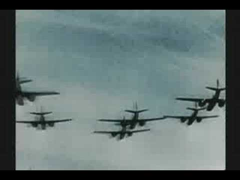 WW II D-DAY 3 of 3 JUNE 6,1944 RARE COLOR FILM Music Videos