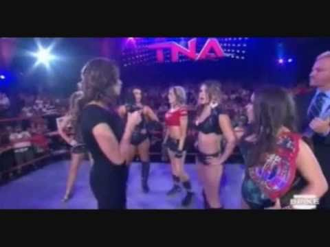 TNA Review 4/28/11 Alex Shelly Returns- Knockouts