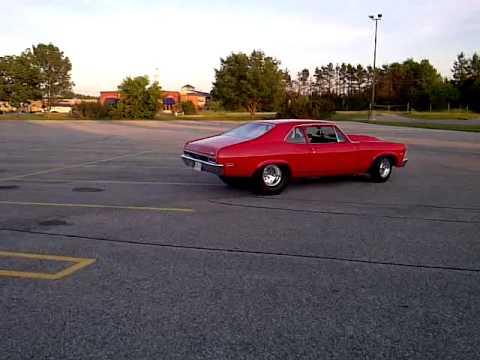 1972 Tubbed Chevy Nova 496 big block