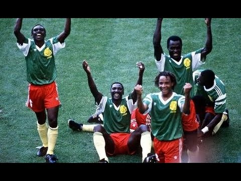 Argentina - Cameroon World Cup 1990 Italy 2nd half