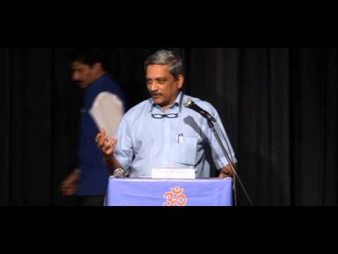 manohar parrikar speech