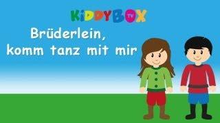 Brüderlein Komm Tanz Mit Mir - Kinderlieder Zum Mitsingen - (KIDDYBOX.TV) Karaoke Lyric Songtext