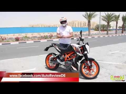 2014 KTM 390 Duke - AutoReview - Dubai - Bike Edition (Episode 1) - [ENG]
