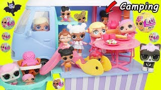 LOL Surprise Dolls Lil Sisters in Happy Together Camper