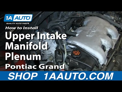 How To Install Replace Fuel Injector GM 3.4L V6 Pontiac Grand Am Olds Alero