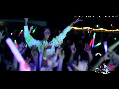 Life In Color Live Clip - Fayetteville, AR - E.N.D Tour - 10/18/12 -