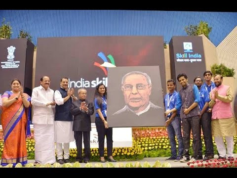SlideShowHon'bleRastrapahyJi-inaugurated the India Skills Competition NEWS-LIVES-thanking..