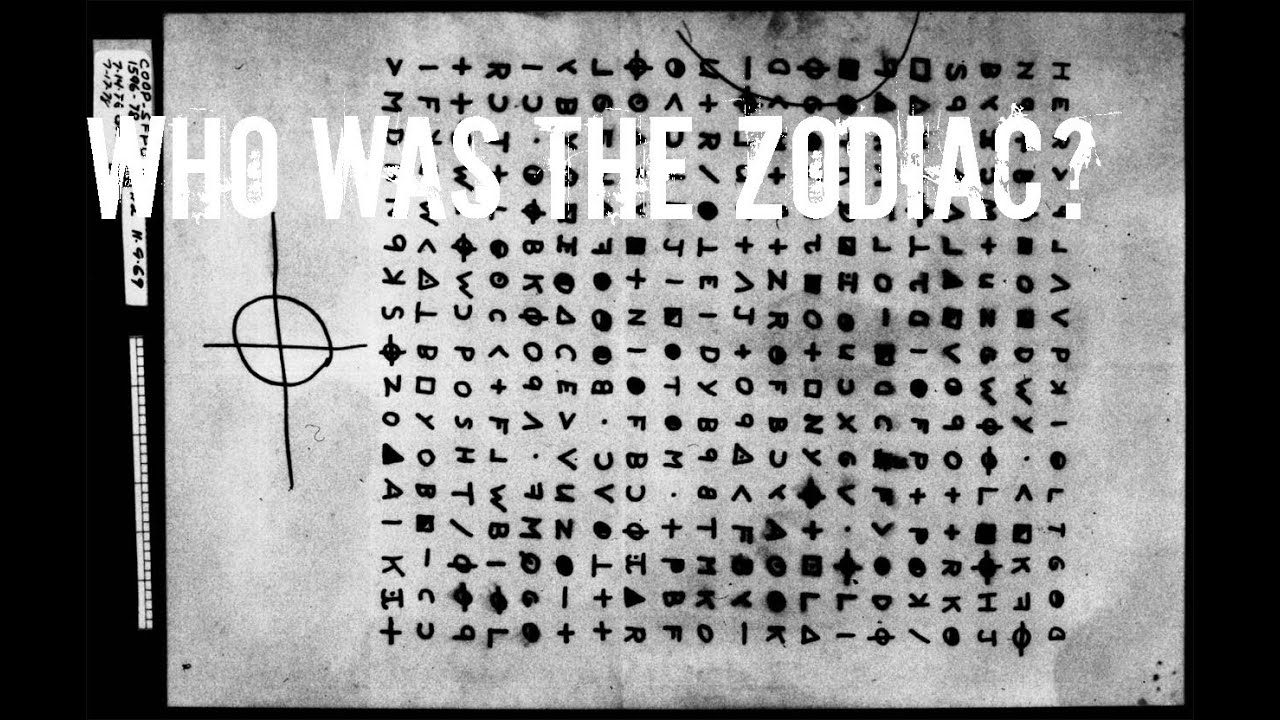 The Zodiac Killer - Unsolved