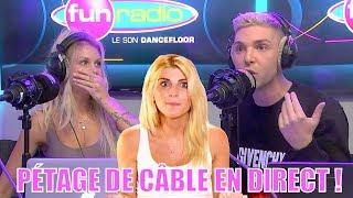 Mélanight (MELAA3): 1 vidéo d'elle aux Toilettes en train de...? Elle pète 1 câble sur Fun Radio !