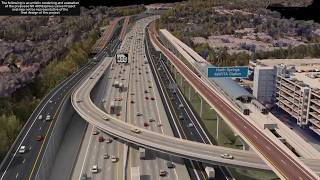 SR 400 Express Lanes Visualization with Cars