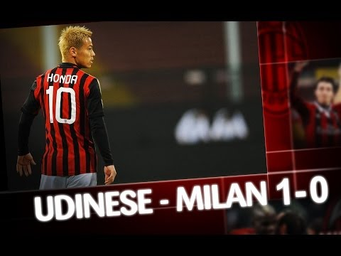 AC Milan | Udinese-Milan 1-0 Highlights
