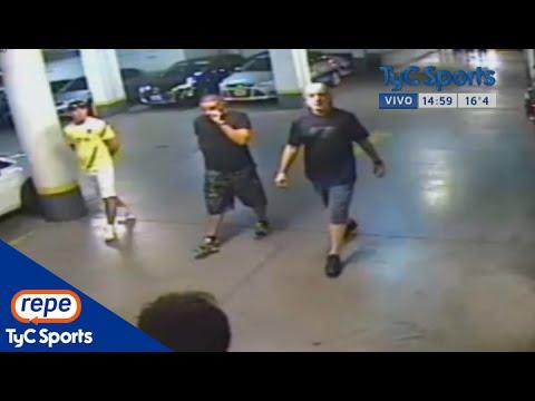 El video de Orión, Gago y el Cata Díaz con los barras en la previa del Superclásico