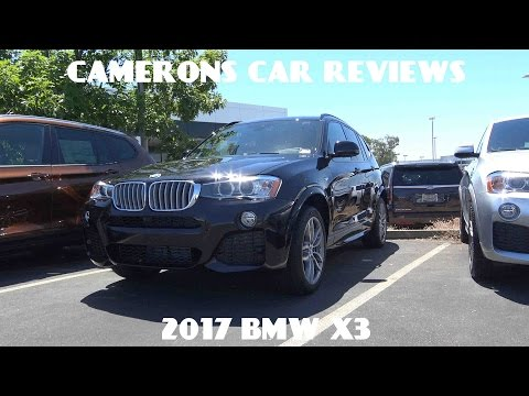 2017 BMW X3 2.0 L Turbo 4-Cylinder Review   Camerons Car Reviews