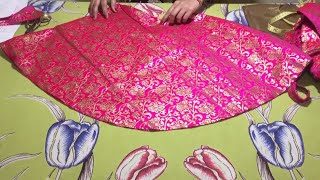 kids umbrella skirt cutting and stitching