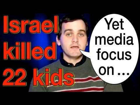 Israel Kills BUT Israeli Aggression is NOT Media Focus (Media Bias Exposed)