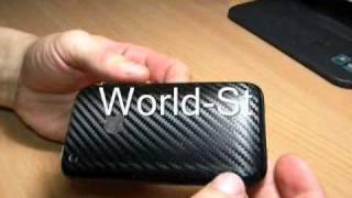 Apple iPhone 3G Label from Carbon films 15 (Ebay World_St)
