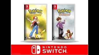 POKEMON LET'S GO PIKACHU & EEVEE TRAILER FOR NINTENDO SWITCH (Concept)