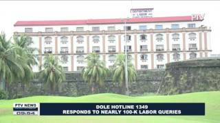 DOLE hotline 1349 responds to nearly 100K labor queries