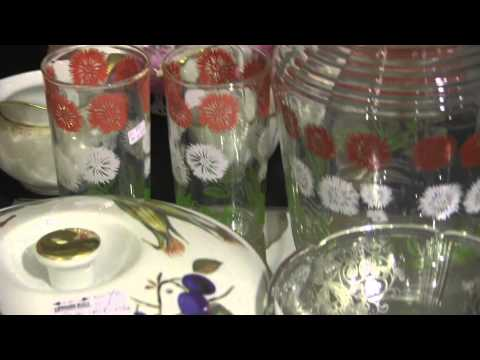Depression glass assorted Antiques At Strathroy Antique Mall