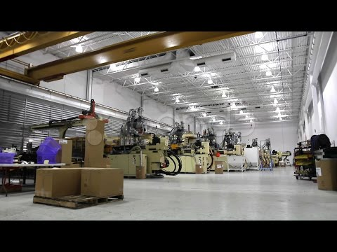 Factory Time Lapse. Stock Footage