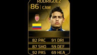 FIFA 14 TIF RODRIGUEZ 86 Player Review & In Game Stats Ultimate Team