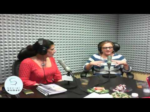 Social Women Candita Clayton and RAW foods inc Week 4 of Better Living Challenge