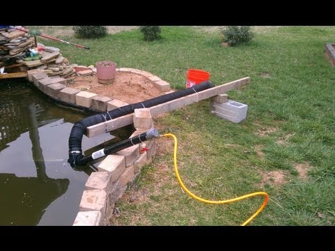 DIY Air Lift Koi Pond Vacuum (Part 2/3)