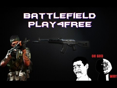 Battlefield Play4Free + C4 e Aek-971 + Oman e Karkand