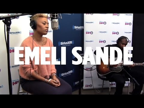 "Emeli Sande ""Next To Me"" Acoustic for SiriusXM Hits 1"