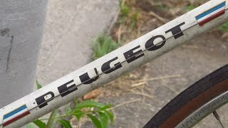 The #1 question about PEUGEOT UO8 ROAD BIKES: why is there a BEEHIVE on my NORMANDY HUB?!?
