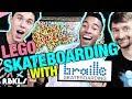 LEGO SKATE RAMP CHALLENGE w/ Braille Skateboarding – REBRICKULOUS